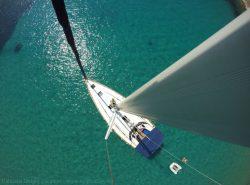 Sailing Croatia-DIV-Vis-Biševo Lagoon Bird