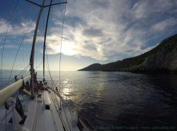 Sailing From Split-DIV-Mljet South Sunset