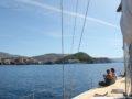 split sailing net – Aquarius Dubrovnik sail 1