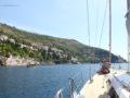 split sailing net – Aquarius Dubrovnik sail 10