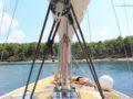 split sailing net – Aquarius Lastovo anchor