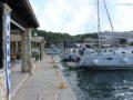 split sailing net – Aquarius Mljet mooring 1
