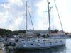 split sailing net – Aquarius Mljet mooring