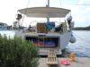 split sailing net – Aquarius Mljet mooring 3