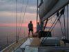 split sailing net – Aquarius Mljet sunset chill