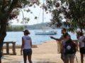 split sailing net – Aquarius anchor badija crew