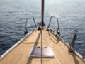 split sailing net – Aquarius bow