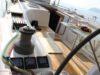 split sailing net – Aquarius cockpit