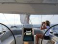 split sailing net – Aquarius cockpit sail