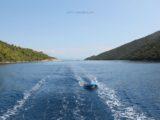 split sailing net – Aquarius sailing Mljet NP dinghy