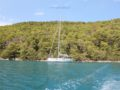 split sailing net – Aquarius sailing Mljet Pomena anchor