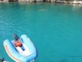 split sailing net – Aquarius sailing Mljet blue 1