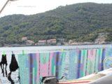 split sailing net – Aquarius sailing Mljet stone village