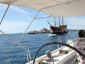 split sailing net – Aquarius sailing old 5