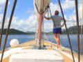 splitsailing net – Aquarius Peljesac sail 2